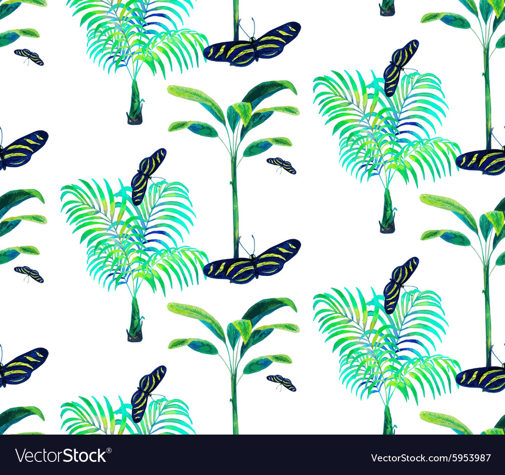 Palm tree pattern2