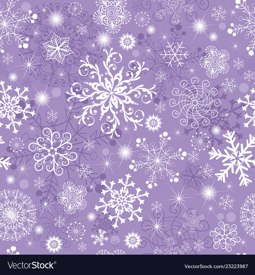 violet pastel seamless christmas pattern vector 23223987