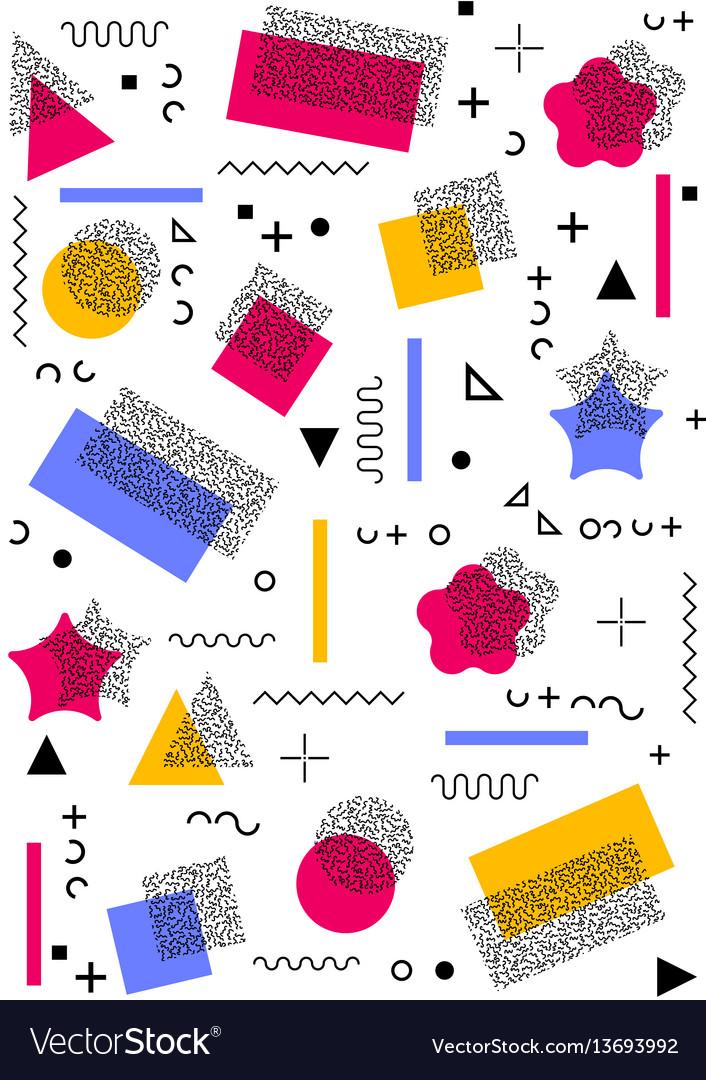 Abstract geometric seamless card