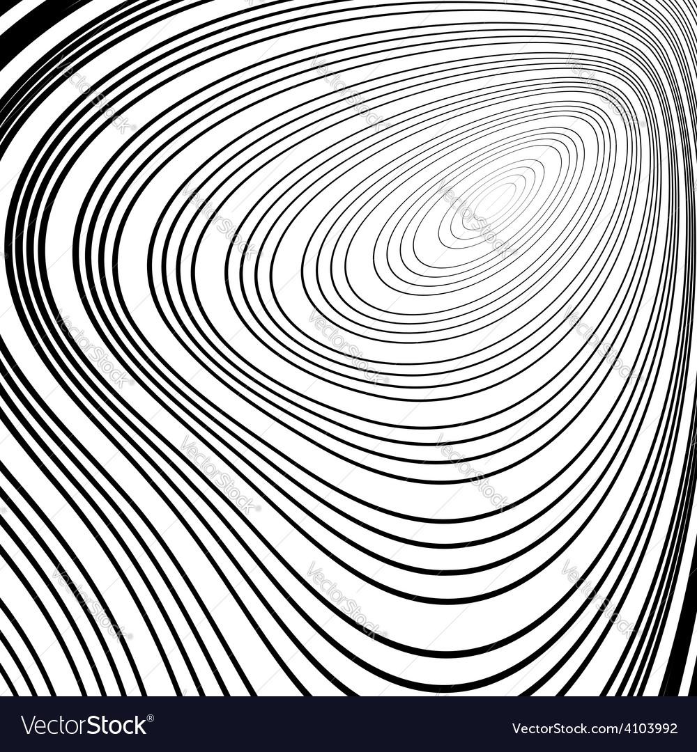 Design monochrome ellipse movement background