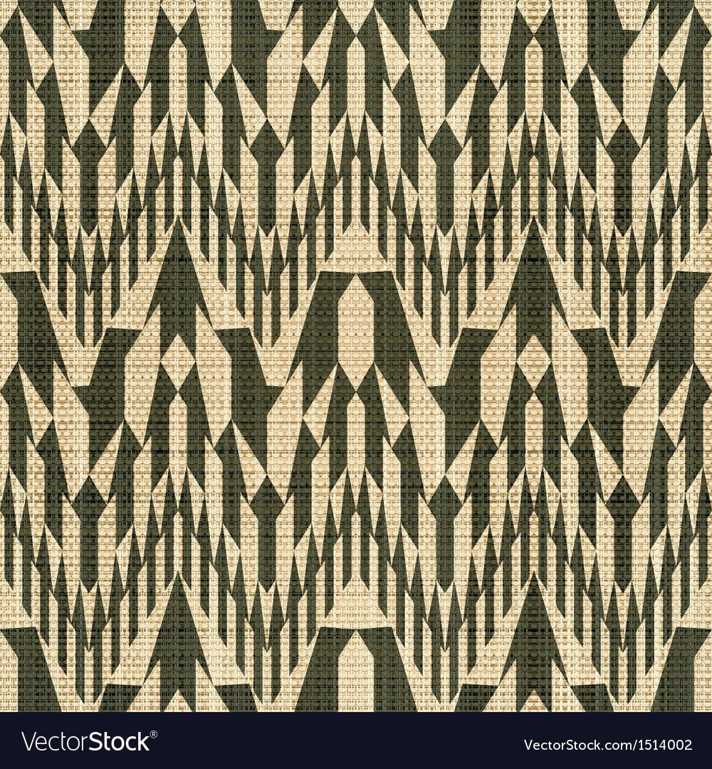 Geometric textile print
