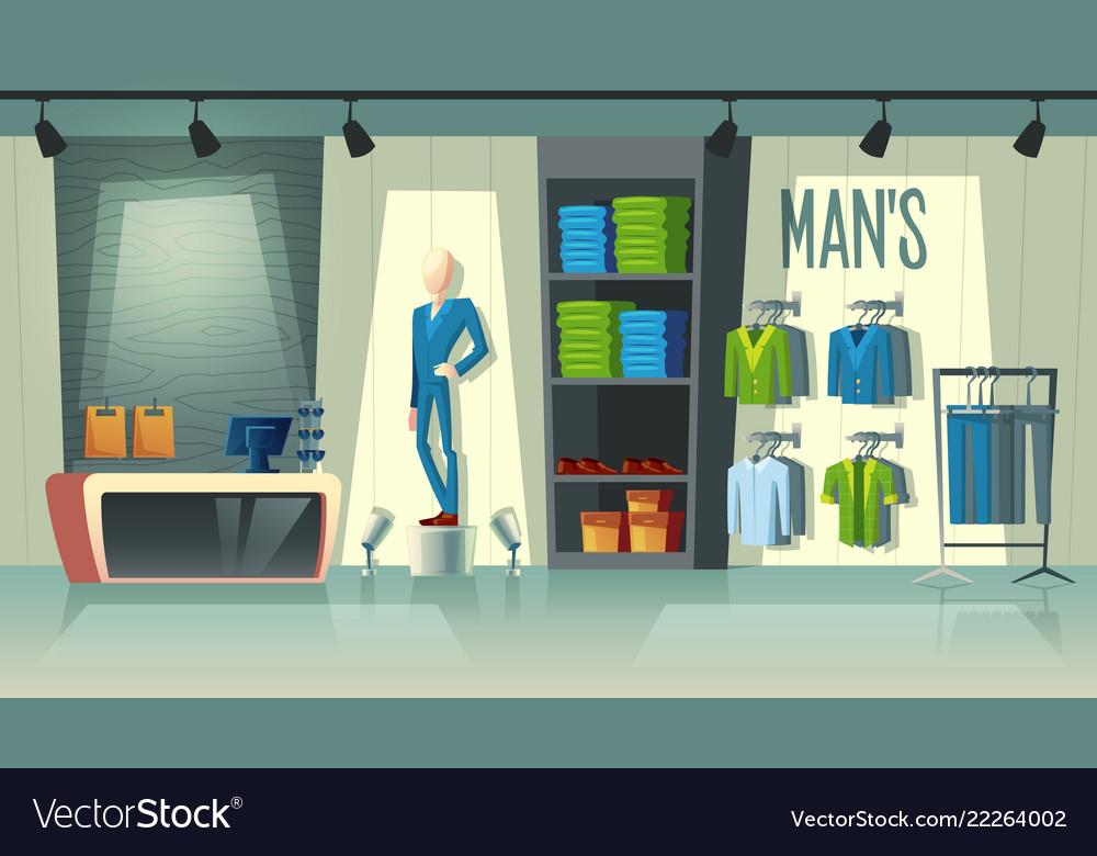 кто рисунок магазина одежды внутри она