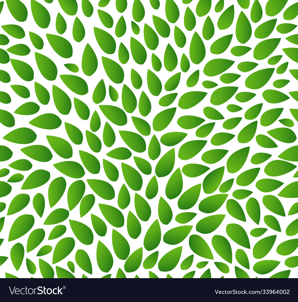 Seamless leaves pattern isolated background