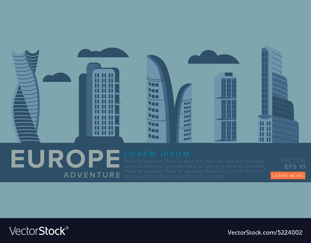 Travel to Europe Modern architecture