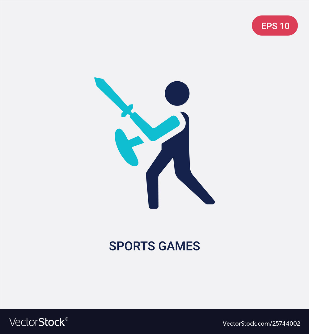 Two color sports games icon from greece concept