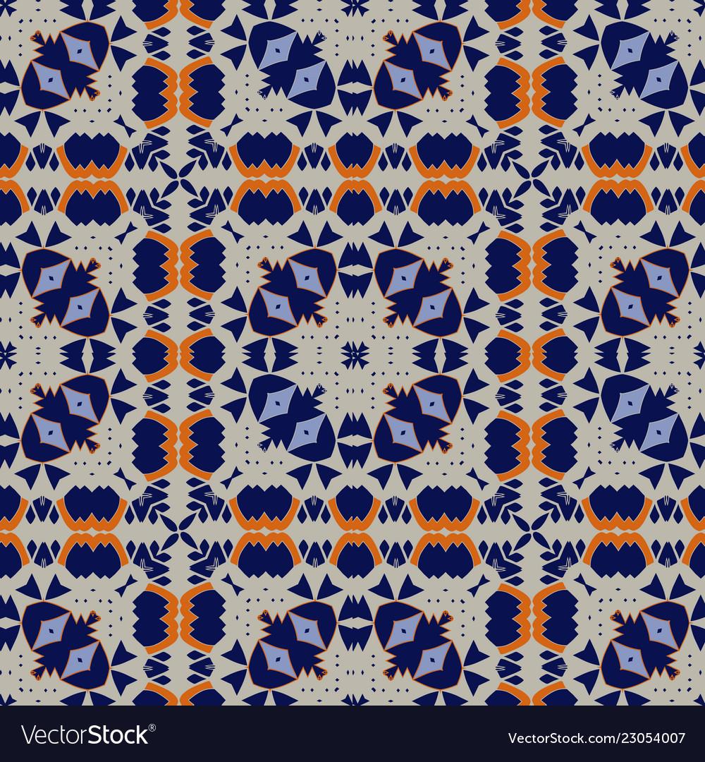 Gorgeous seamless pattern azulejo