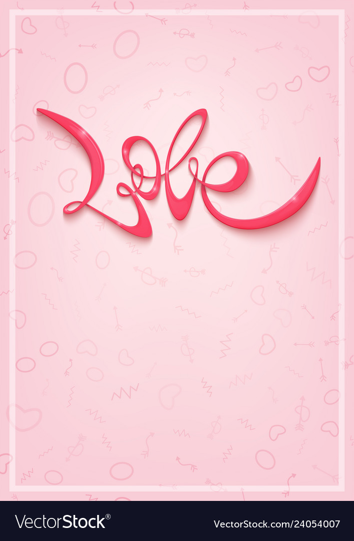 Happy valentines day greeting card banner