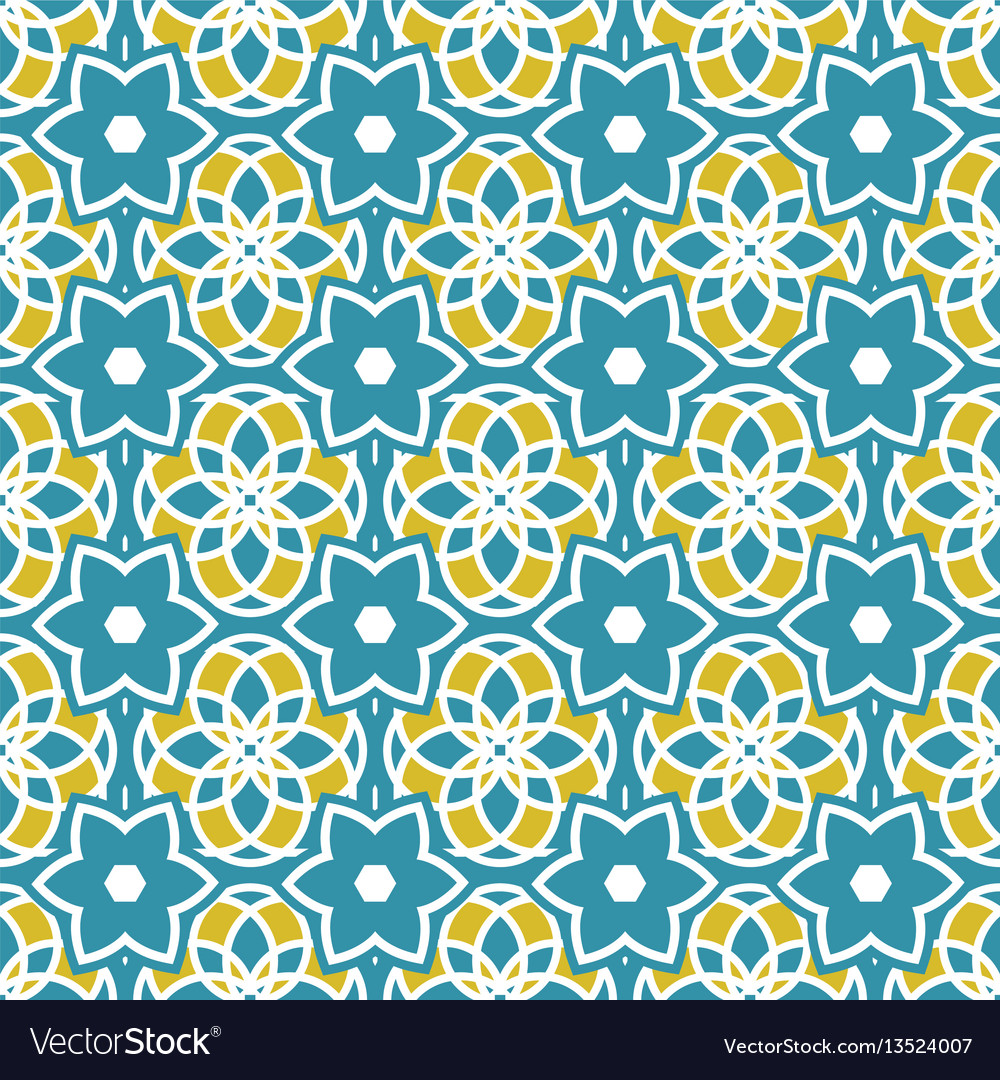 Portuguese azulejo tiles seamless patterns