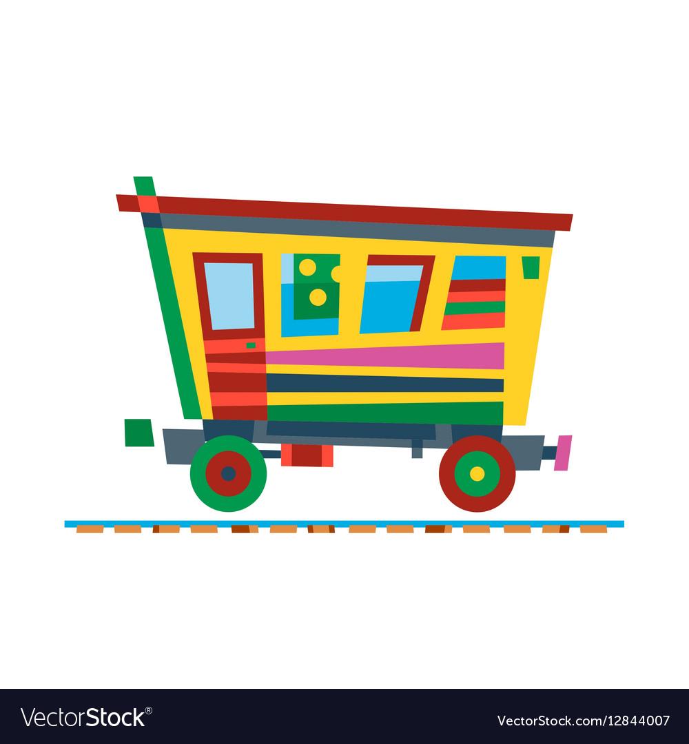 Railway train carriage