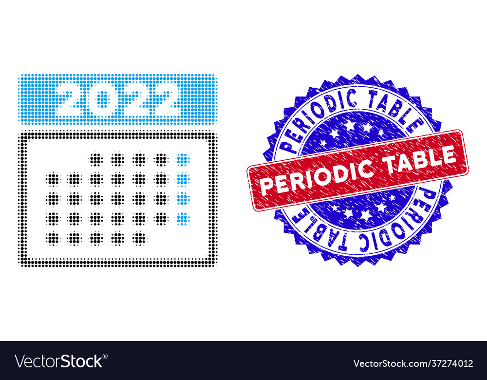 Ap Calendar 2022.Dotted Halftone 2022 Month Calendar Icon And Vector Image