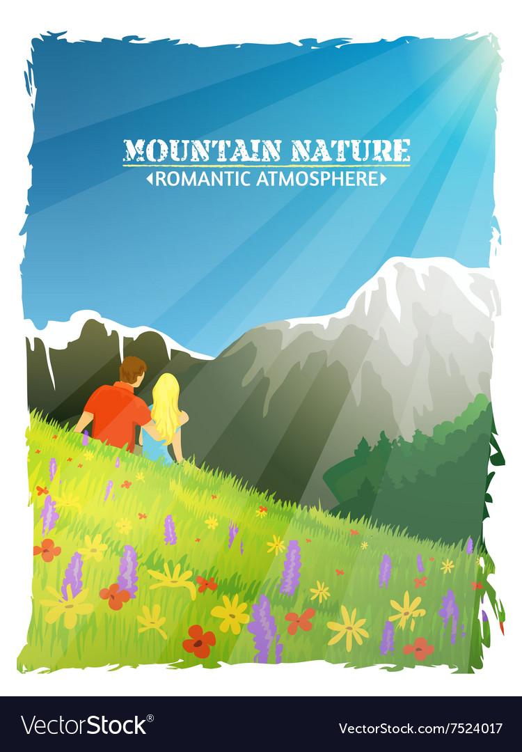 Mountain Landscape Nature Romantic Background