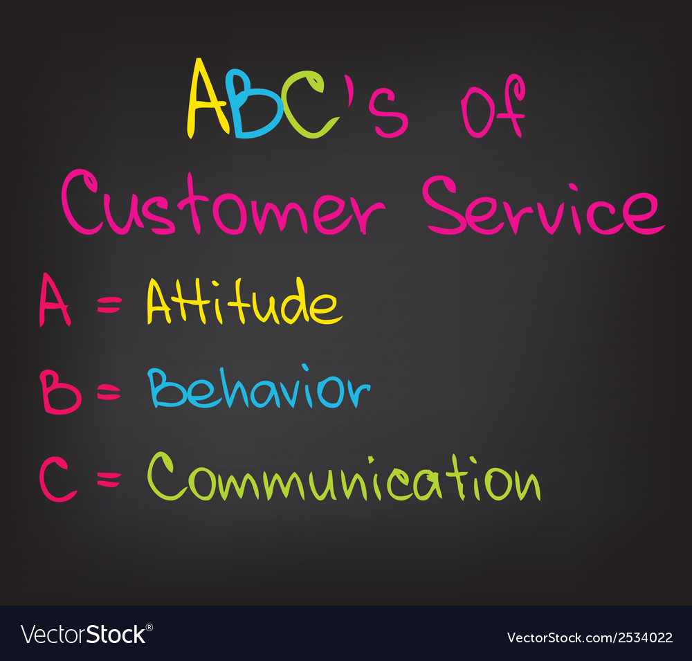 ABC Approach Vector Image