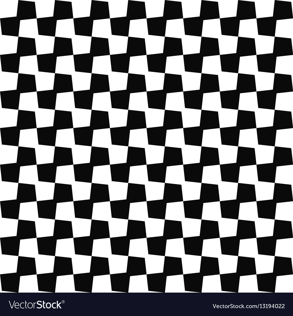 Seamless black white geometric pattern background