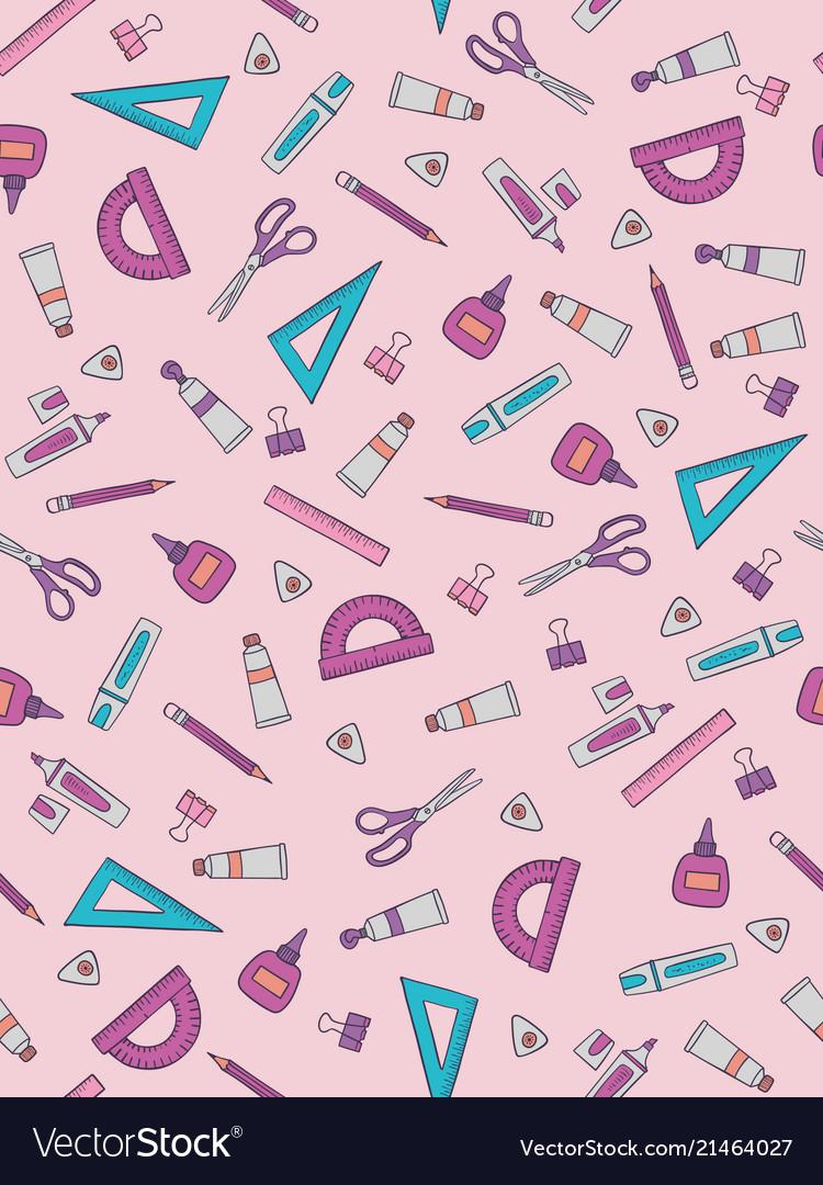 School pattern design with