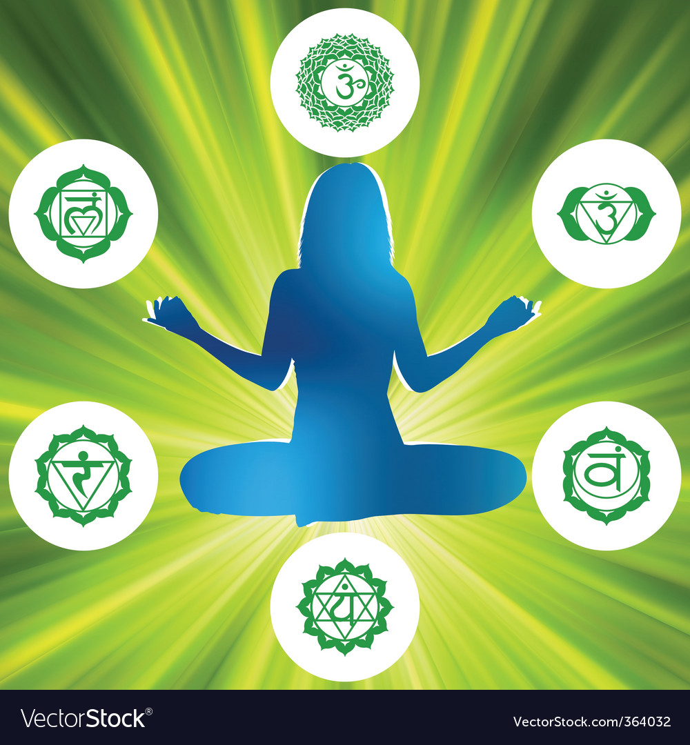 Chakras and spirituality symbols