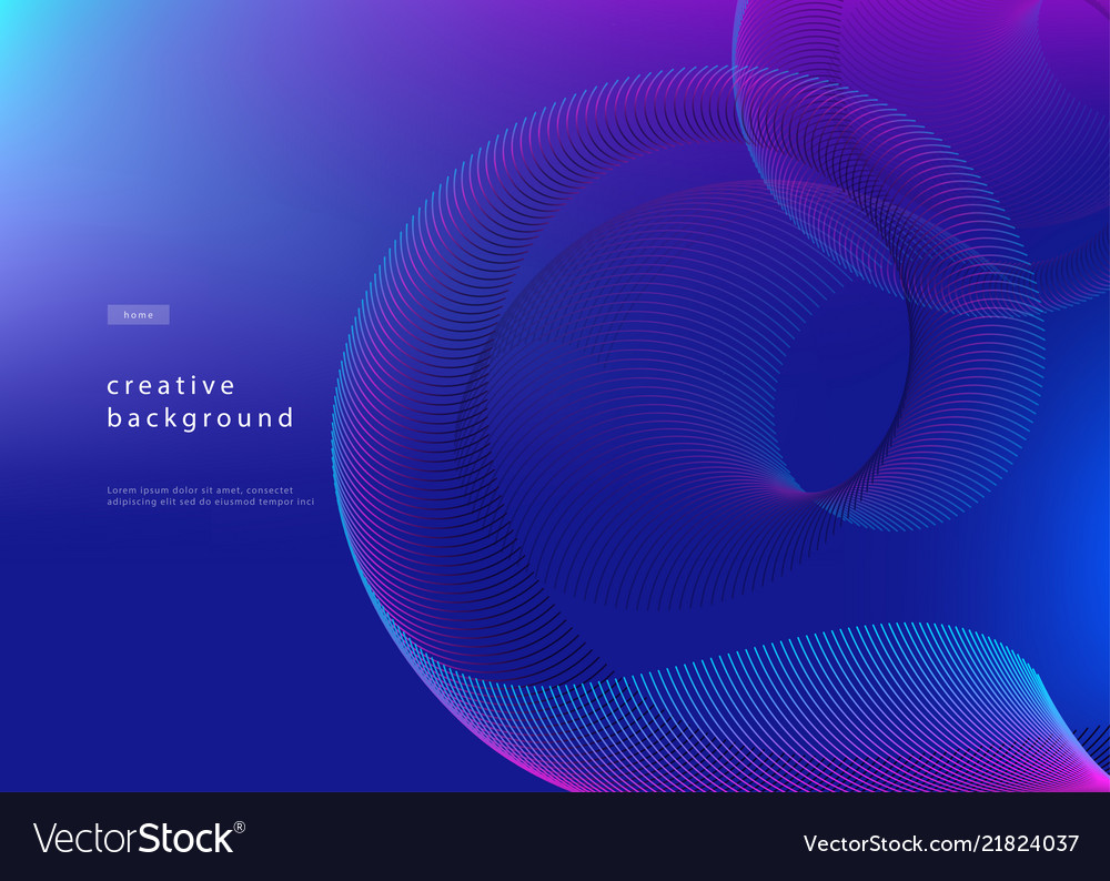 Abstract background design fluid gradient with