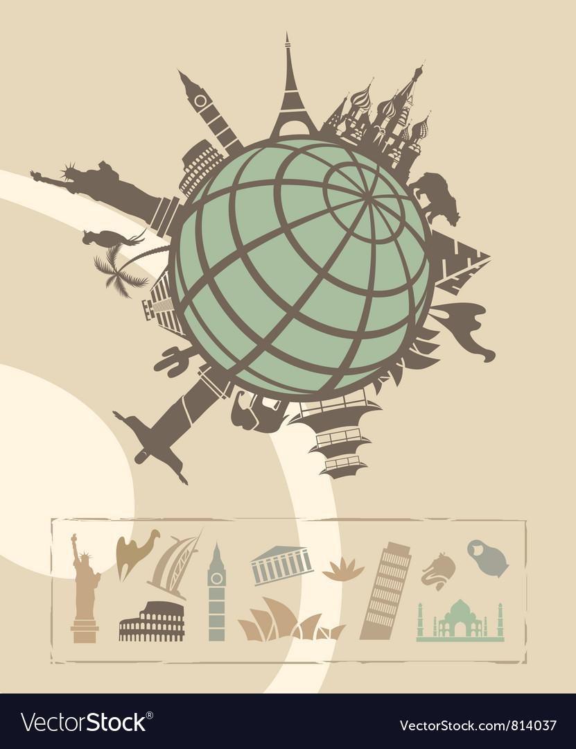 Landmarks around world