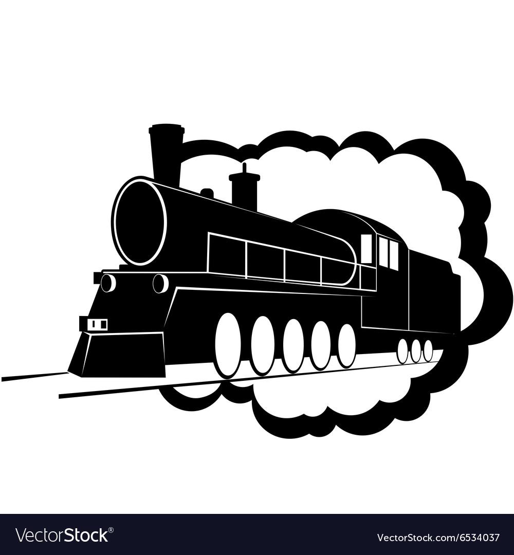 Old steam locomotive-3
