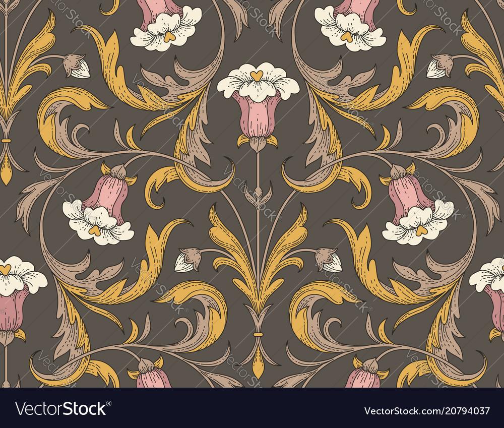 Victorian style pattern