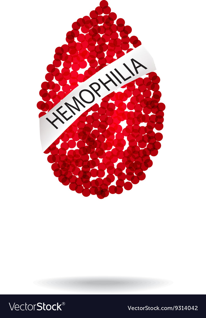 Hemophilia World Hemophilia Day Red drop of