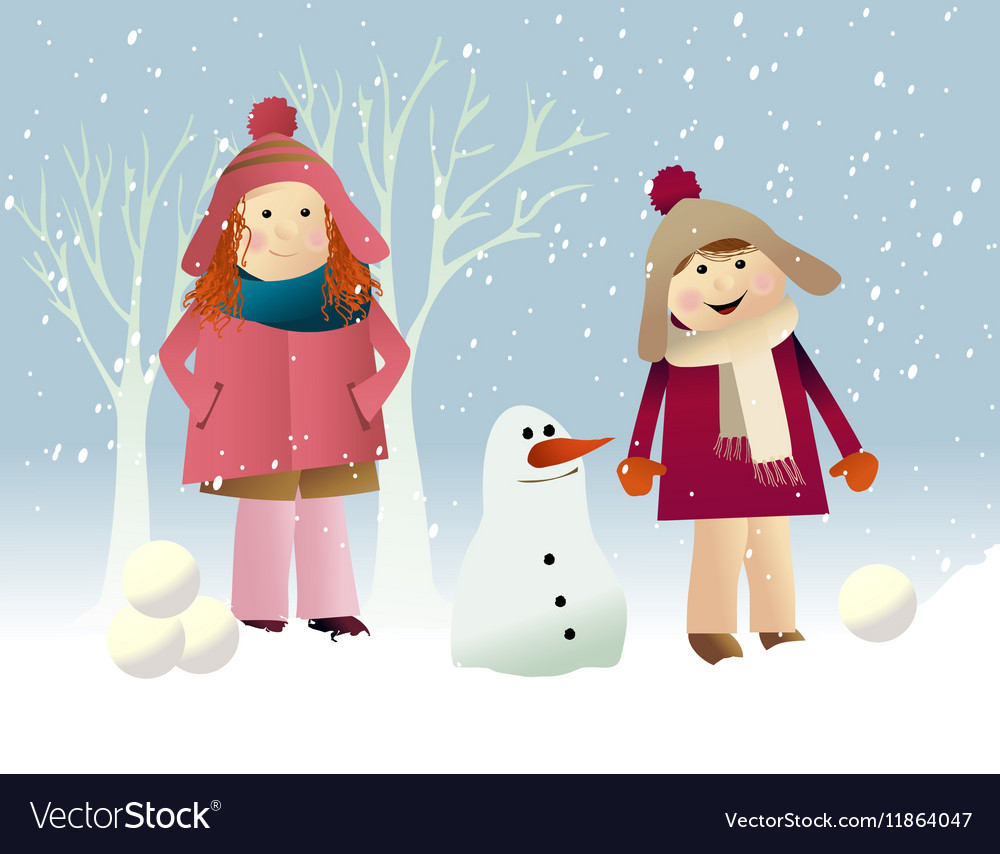 Winter snow games