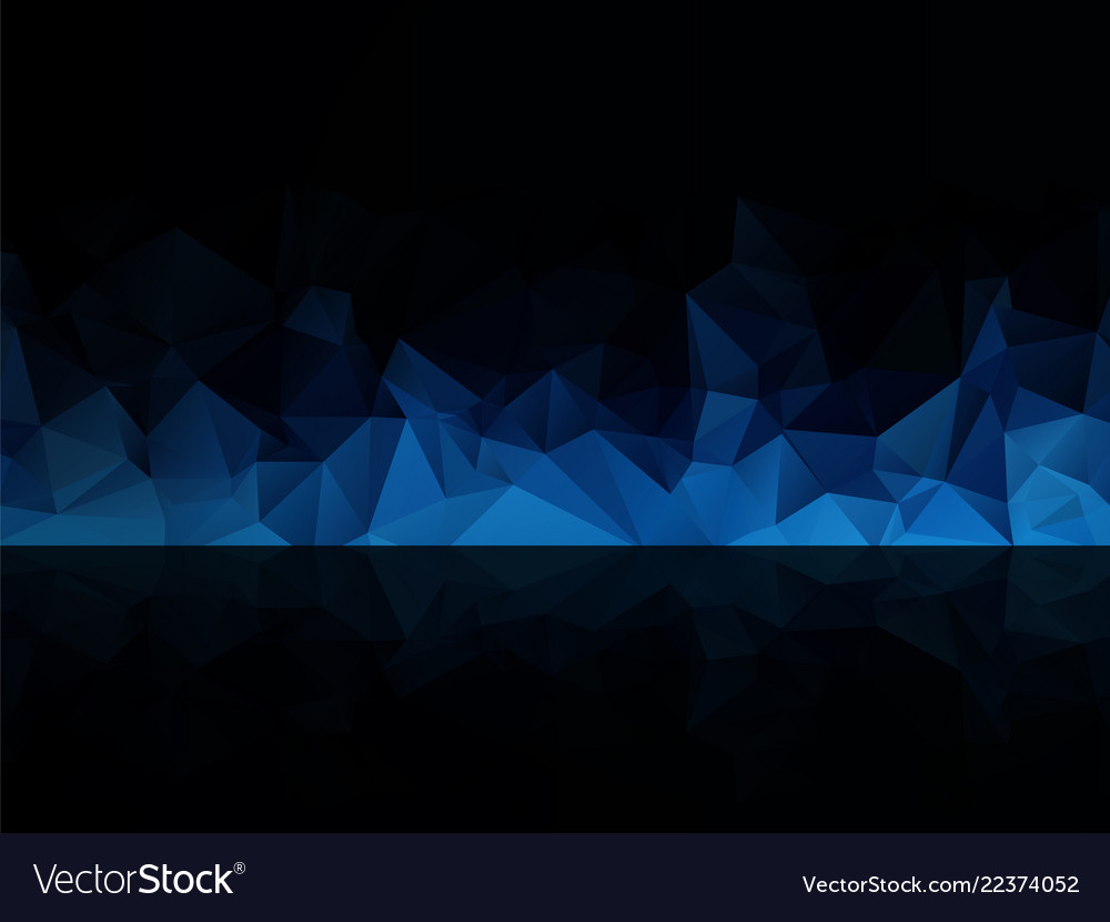 blue black abstract background royalty free vector image