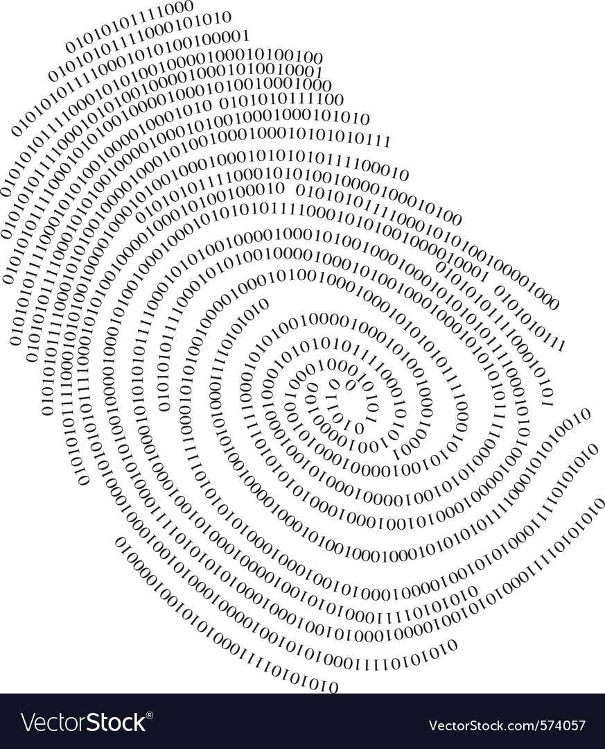 Binary finger print