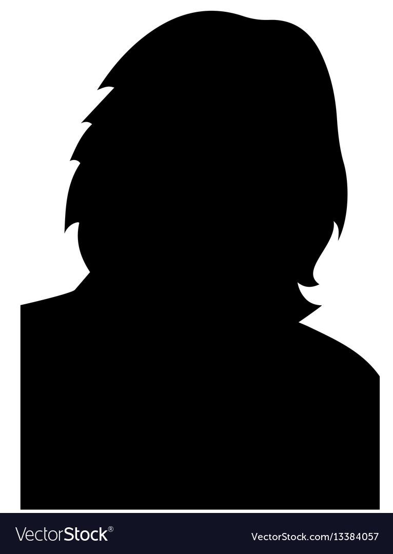 Women heads silhouettes eps 10