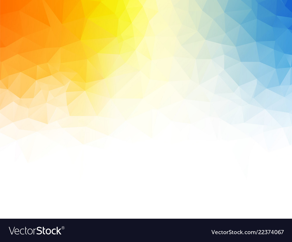 Blue and orange wave vector Vector | Free Download |Orange And Blue Vector Background