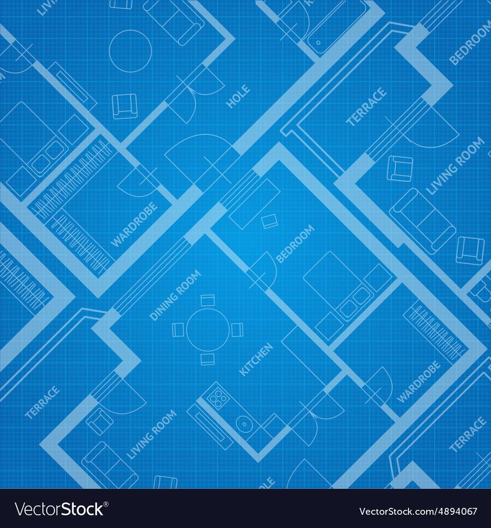 Plan blue print Architectural background