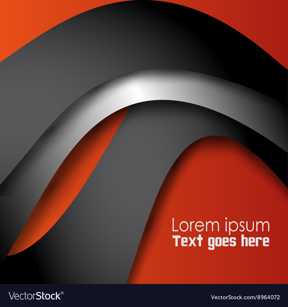 Abstract Orange black background