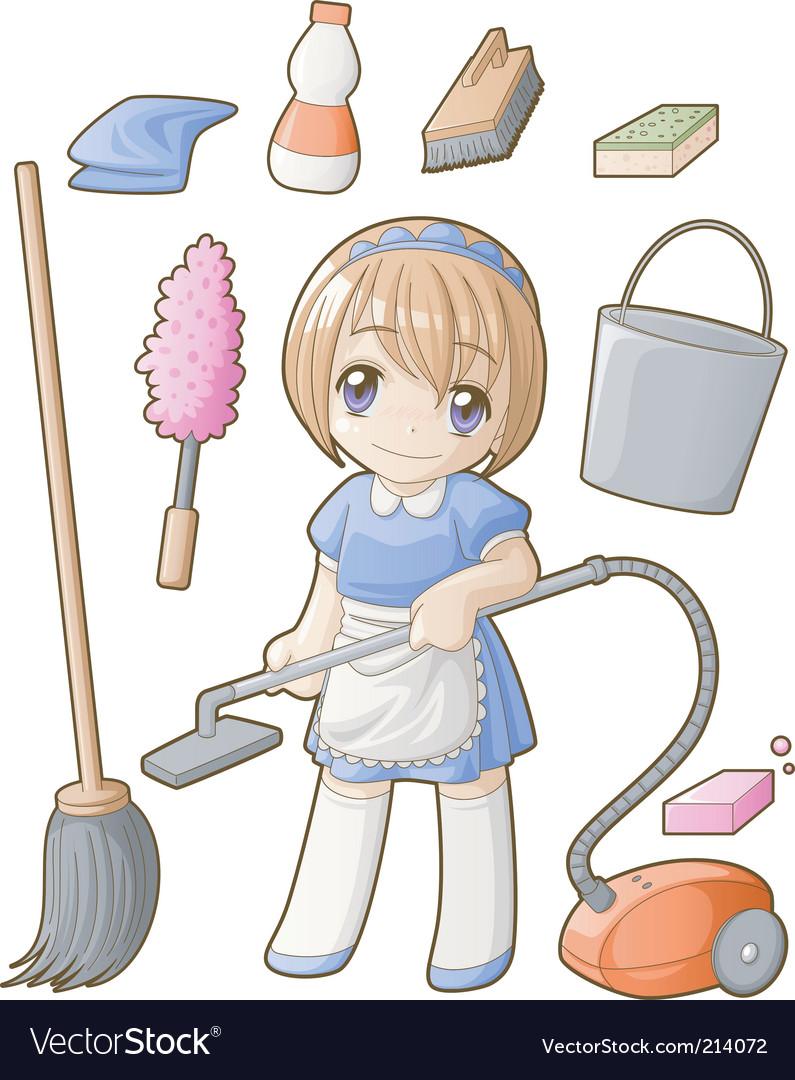 Chibi professions sets cleaner