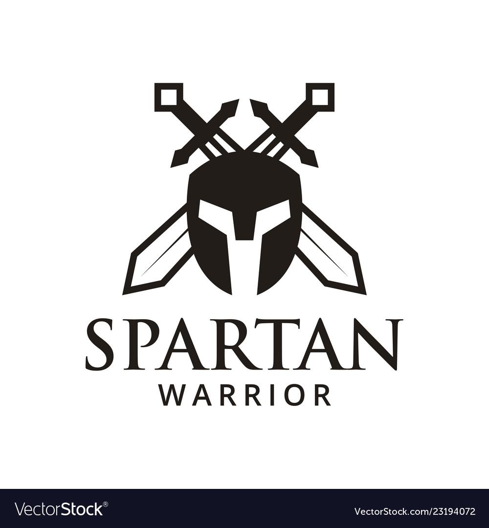 Spartan warrior logo design inspiration
