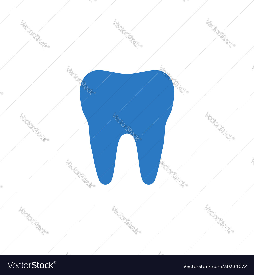 Tooth related glyph icon