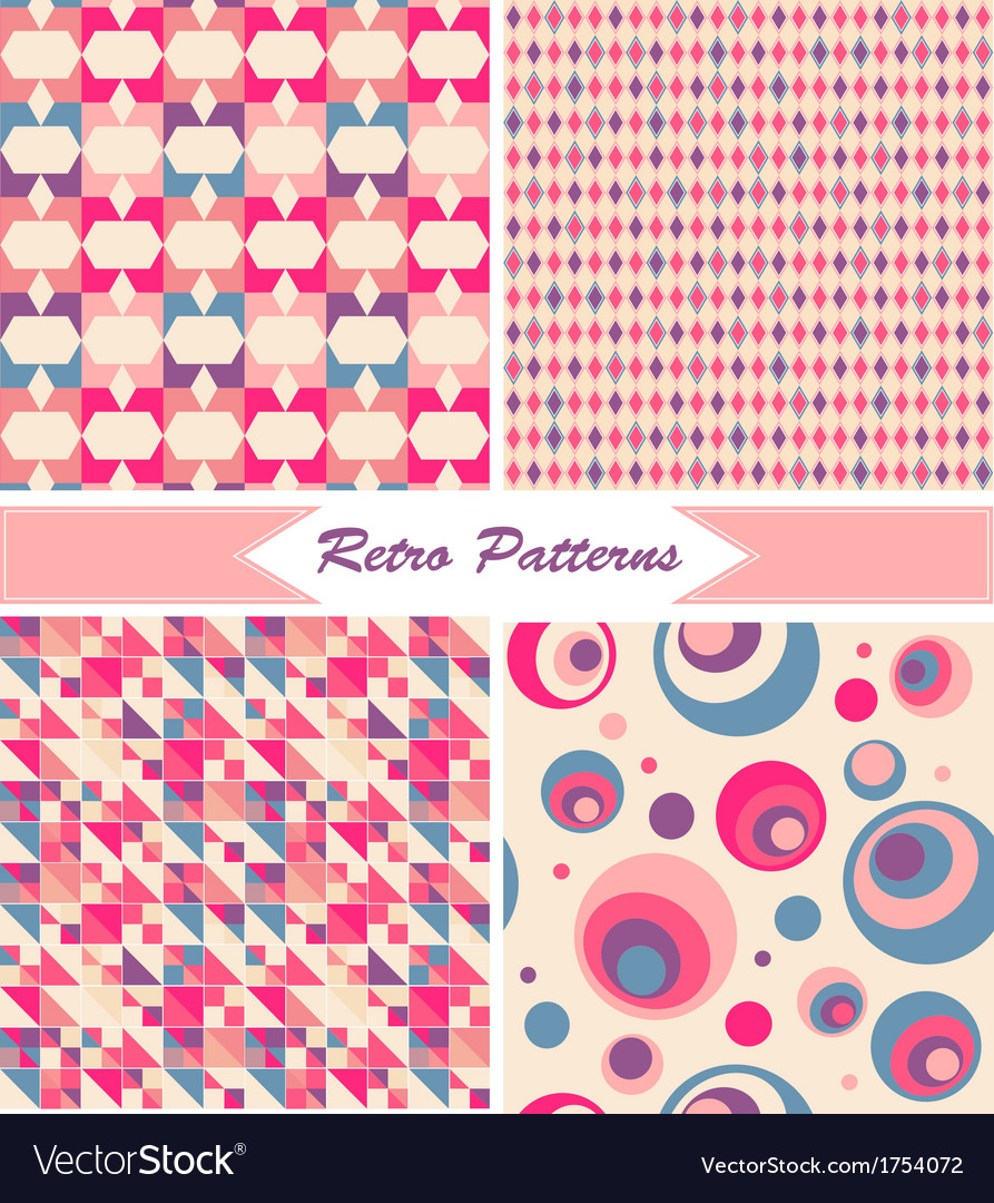 Vintage Retro Patterns