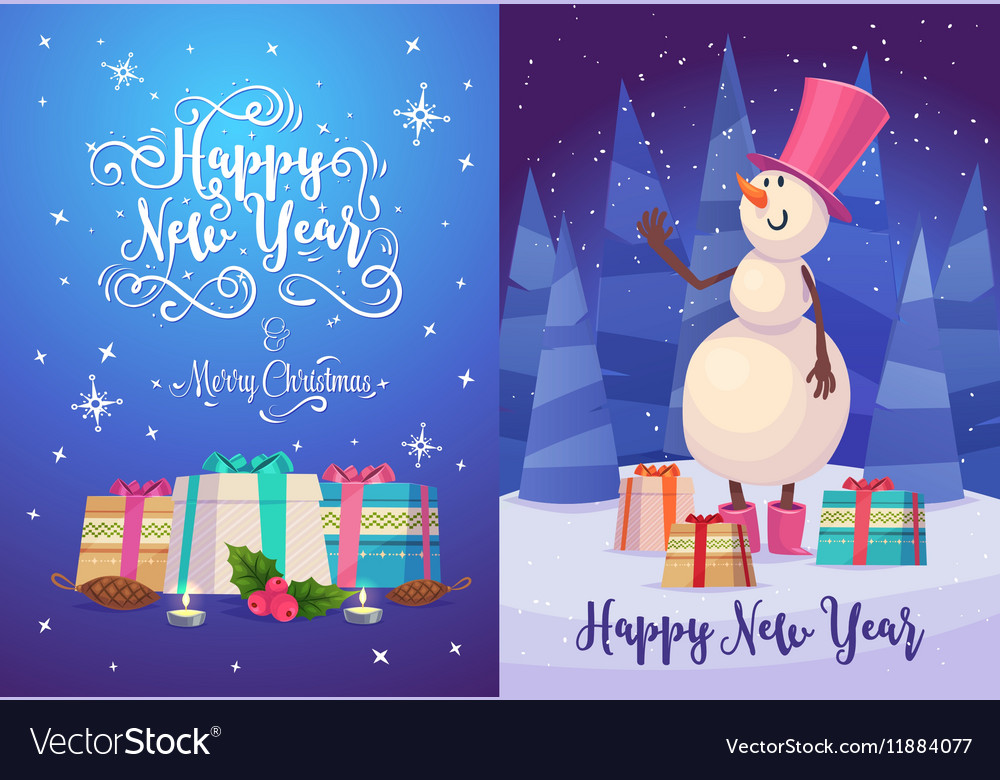 Christmas greeting card background poster