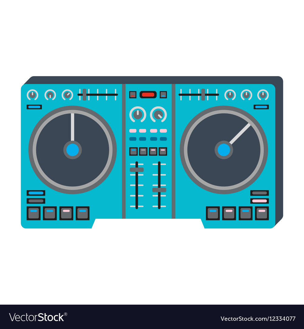 Dj music equipment icon