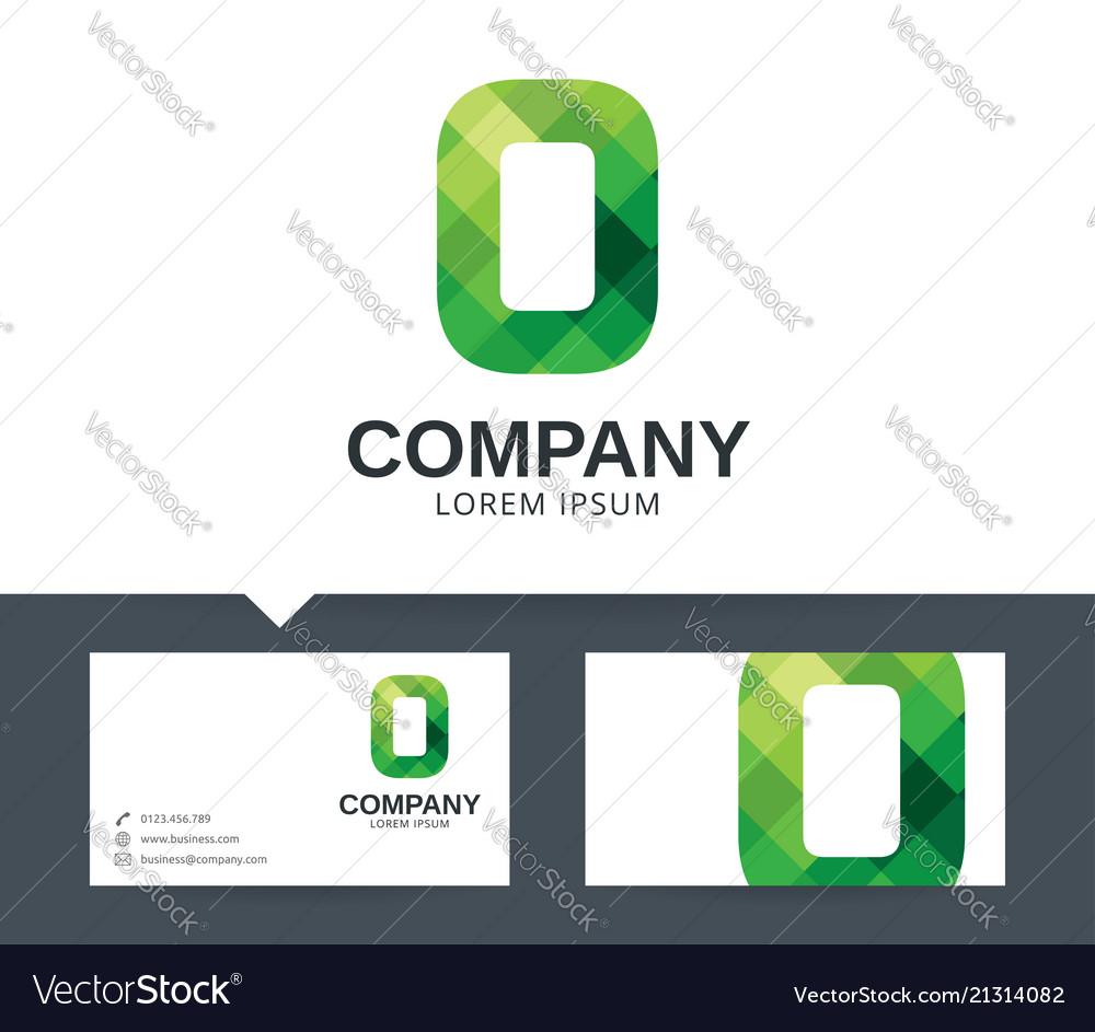 Letter o - logo design