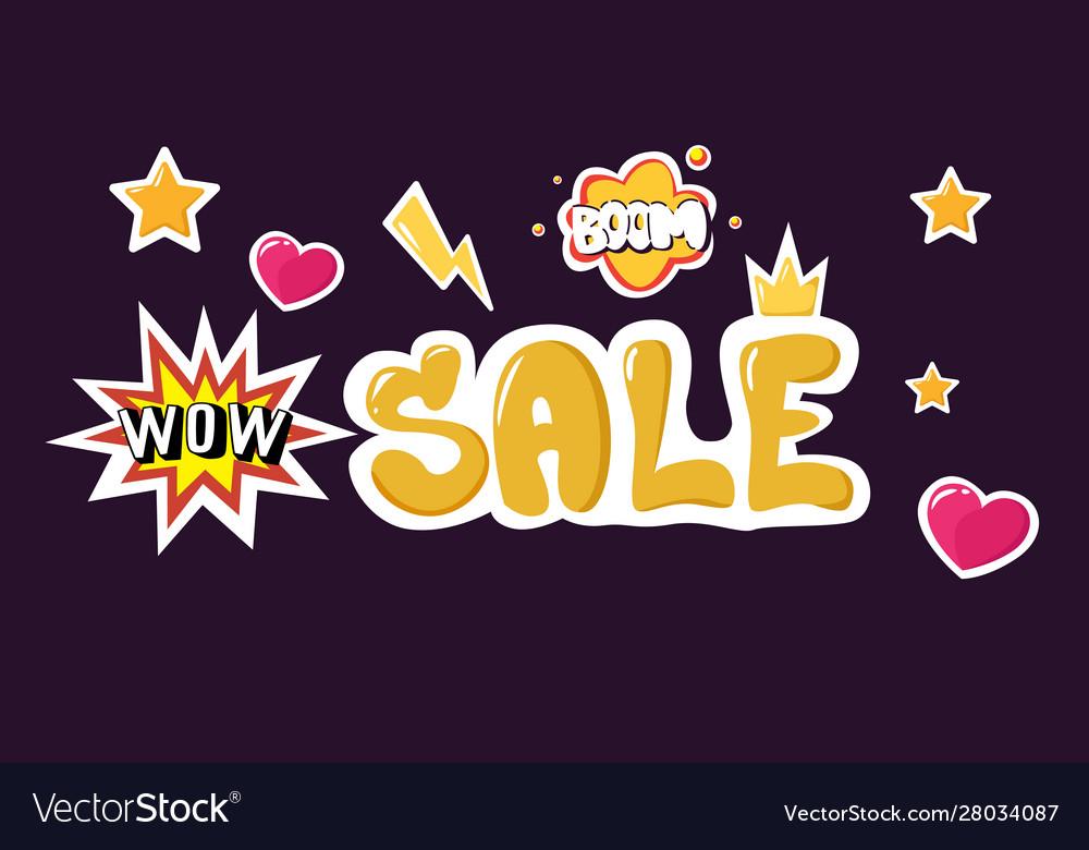 Big sale black friday flyer special offer promo