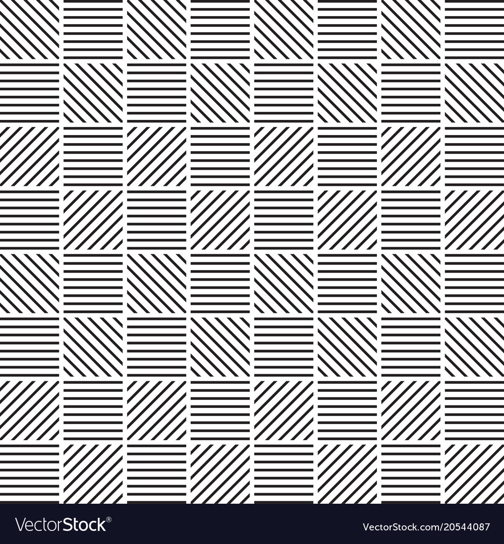 Black and white monochrome geometric pattern