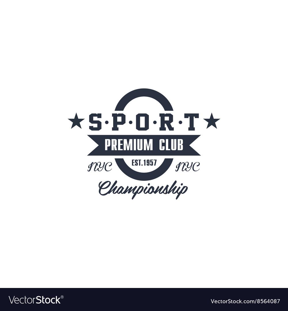Classic Sport Club Label