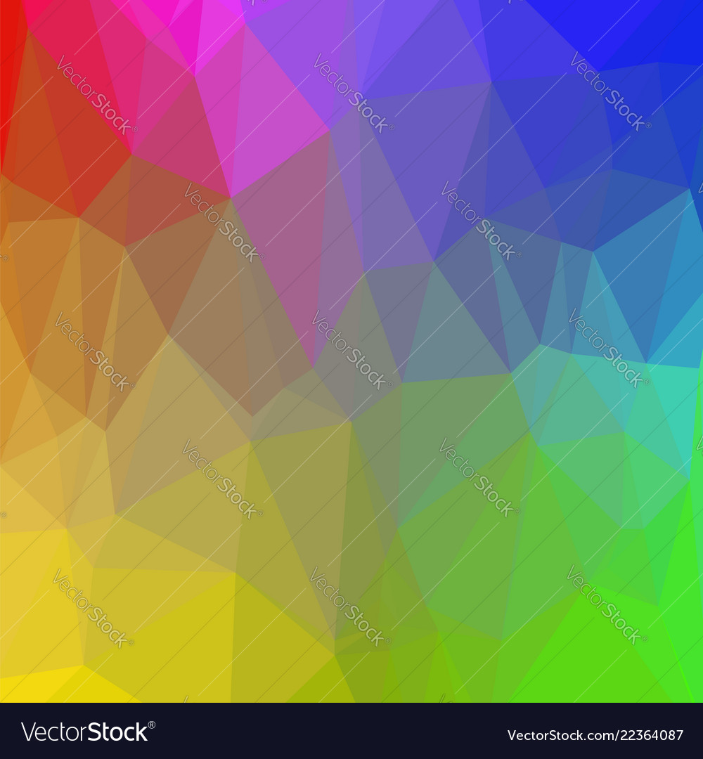 Colorful polygonal background rumpled triangular