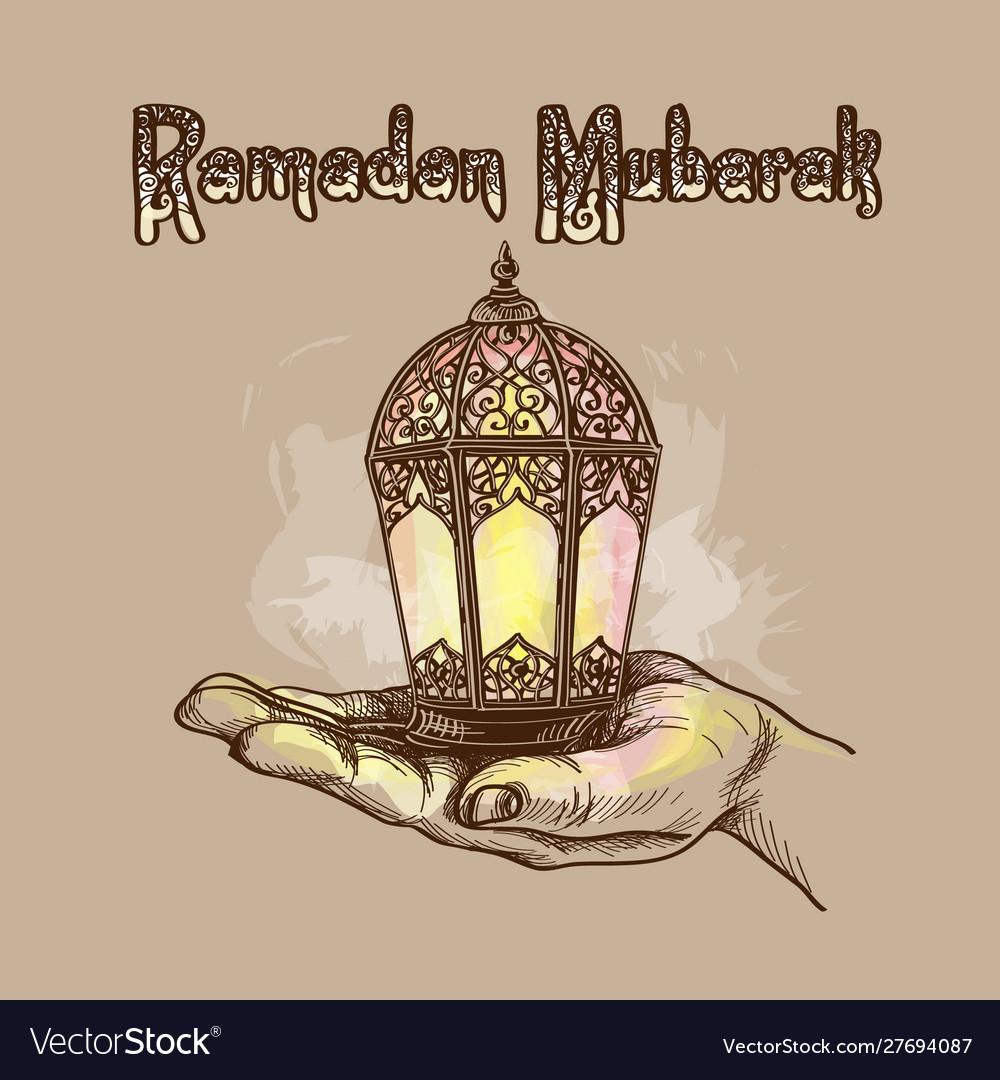 Fanus lantern muslim holiday holy month of