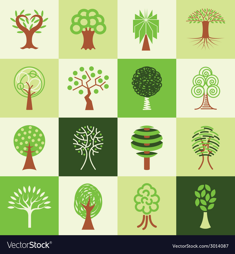 Trees logo icons