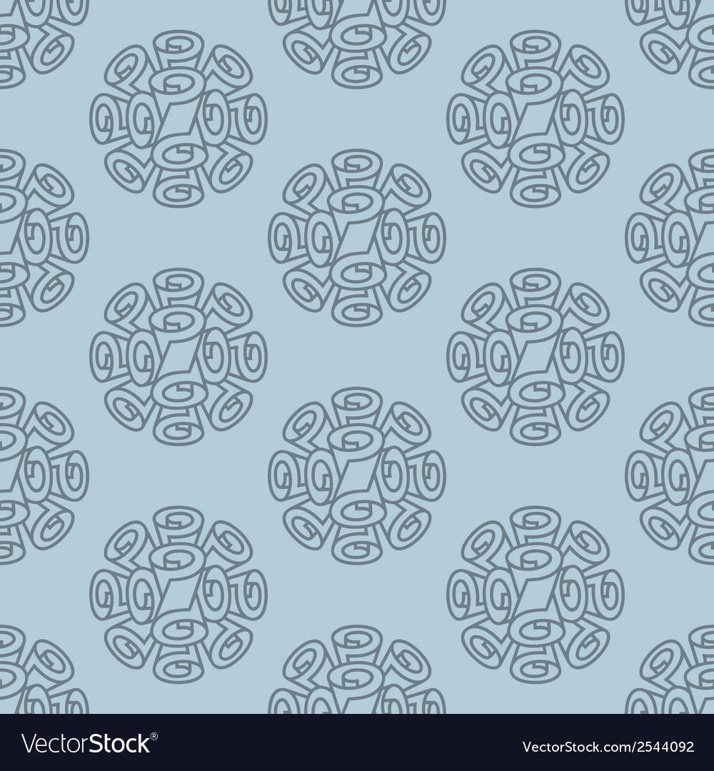 Roll wallpaper seamless pattern