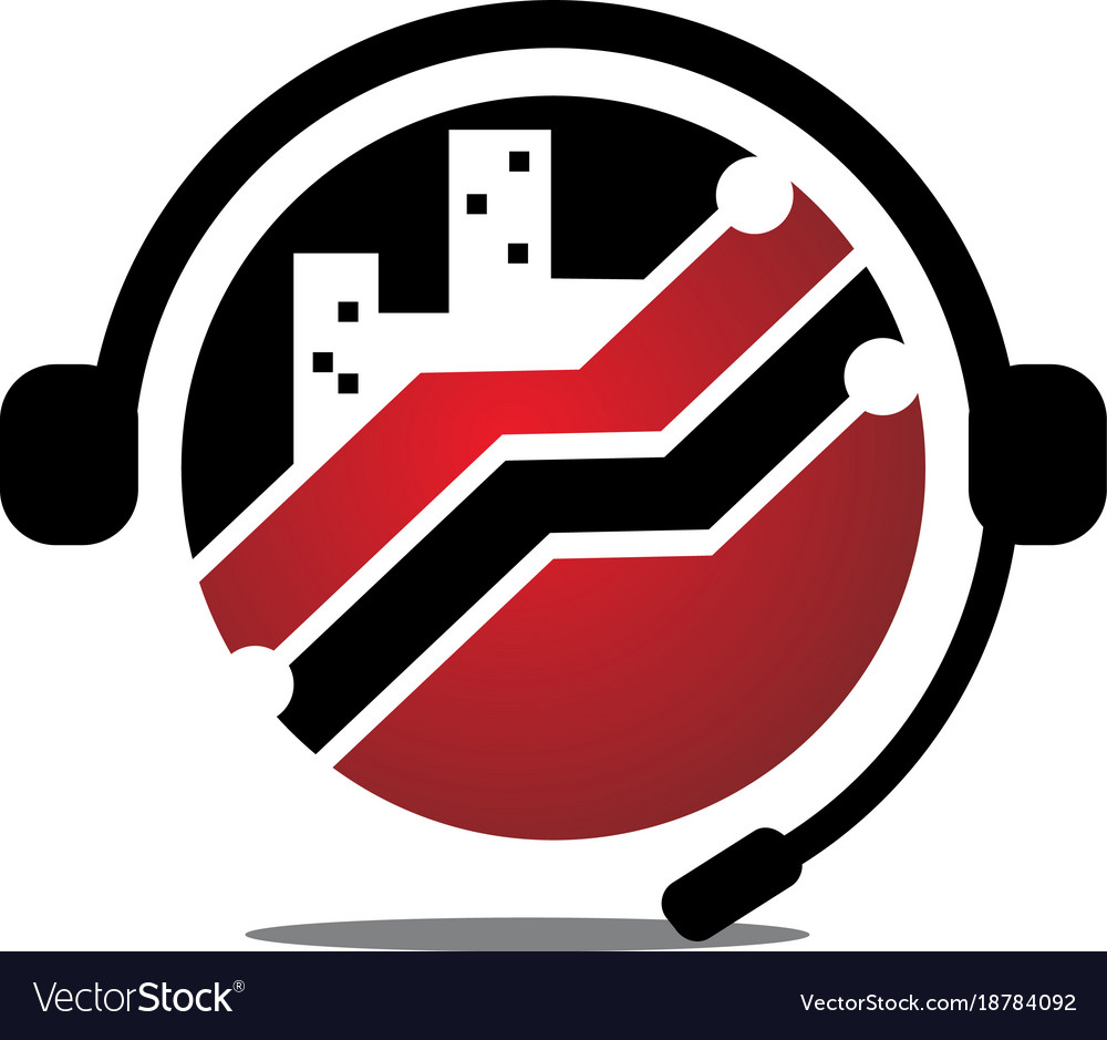 Support technology customer service vector image