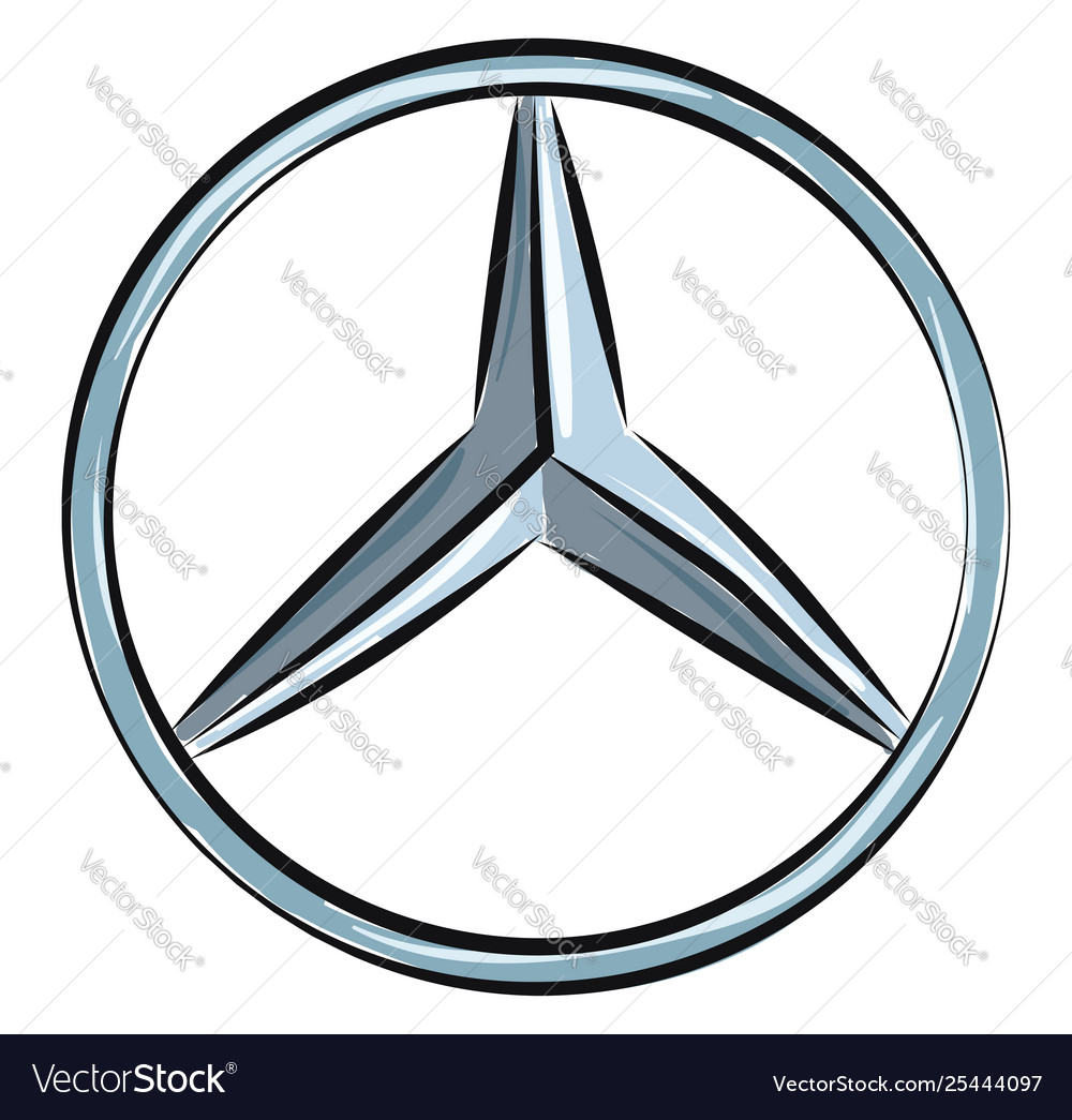 Mercedes Benz Symbol >> Mercedes Benz Logo Or Color