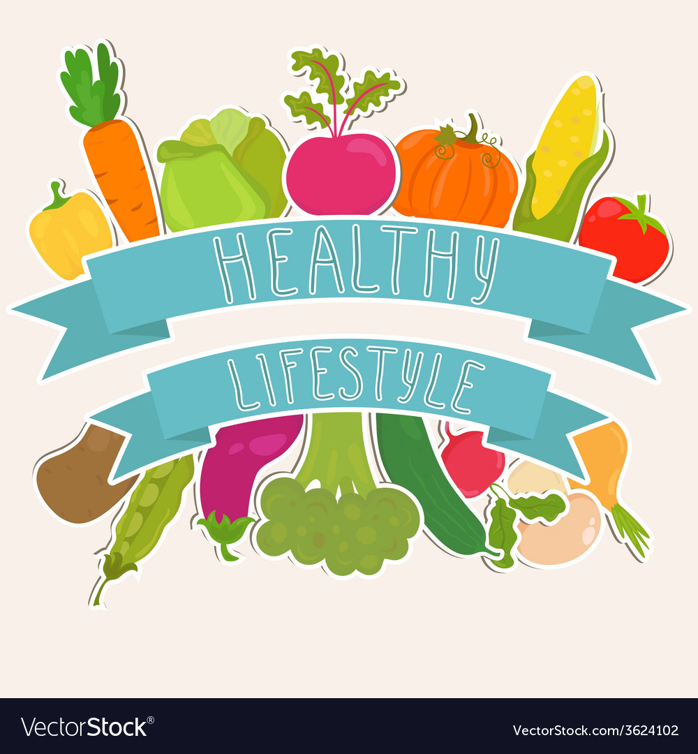 Farm fresh vegetables healthy lifestyle