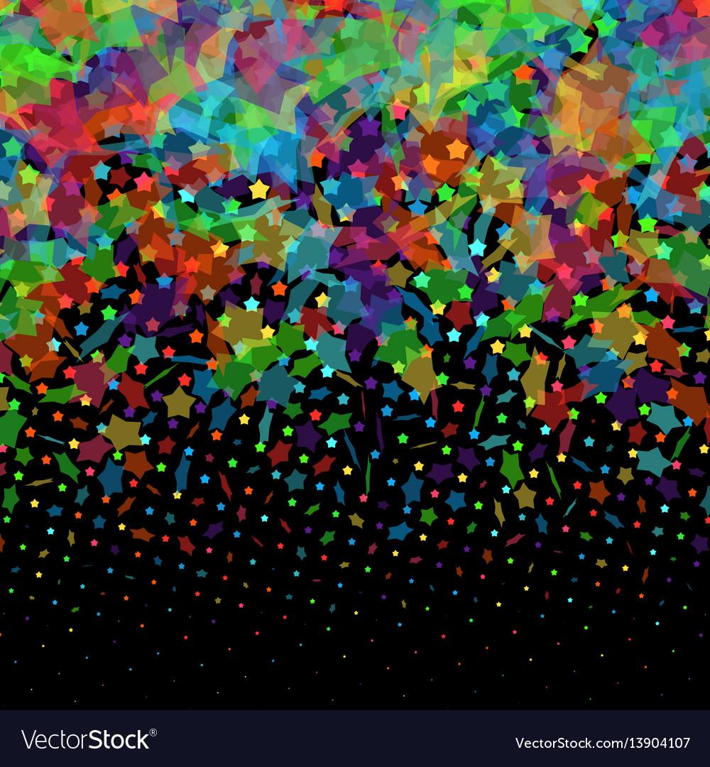 Absract halftone geometric background