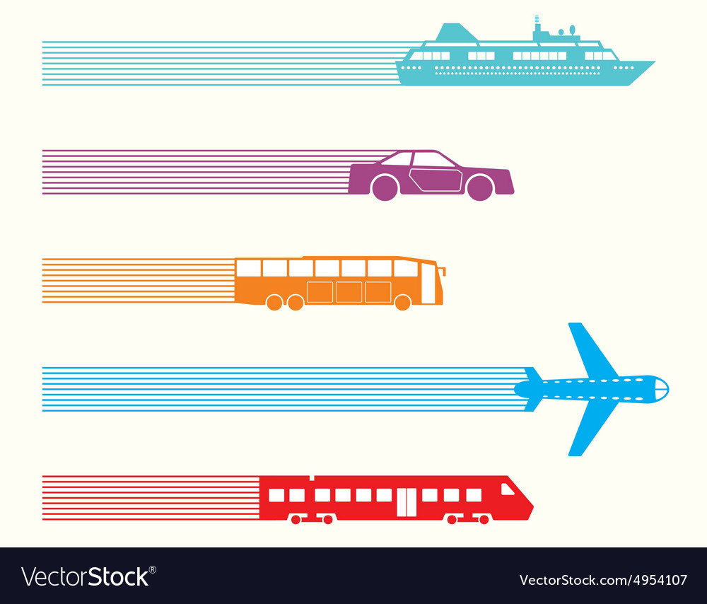 Different kinds transport